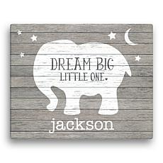 Dream Big Little One Personalized 16x20 Canvas