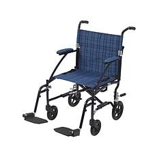 Drive Medical Ultra Lite Lightweight Transport Chair