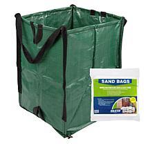 DuraSack Heavy-Duty Home and Yard Bag and 25 Sandbags