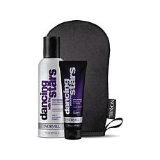 DWTS Airbrush Spray & Gradual Tan Cream w/Blending Mitt