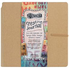 Dyan Reaveley's Dylusions Creative Journal 8.75X9 - Kraft