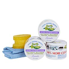 Earth Brite 3-pack 17.5 oz. Natural Clay All-Purpose Cleaning Kit