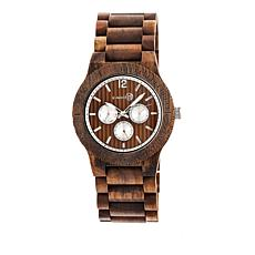 "Earth Wood Goods ""Bonsai"" Olive Wood Bracelet Watch"