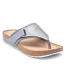 easy spirit Peony Leather Thong Sandal