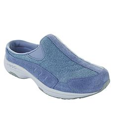 easy spirit Traveltime Suede and Fabric Sport Clog