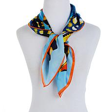 Echo Butterfly Wings Square Silk Scarf