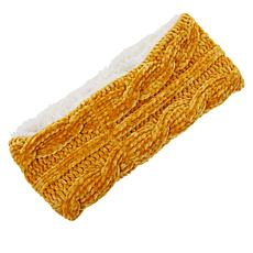 Echo Chenille Faux Sherpa Lined Headband