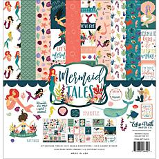 Echo Park Collection Kit 12X12 - Mermaid Tales