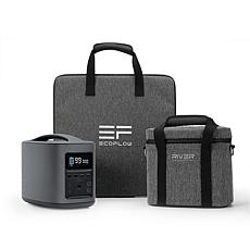 EcoFlow Tech RIVER Mobile Power Station Travel Bundle
