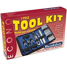 Econo 7-piece Craft Tool Kit with Zip Pouch