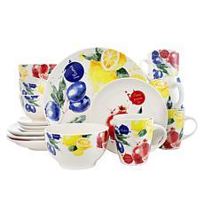 Elama Tuscan Amore 16-piece Stoneware Dinnerware Set