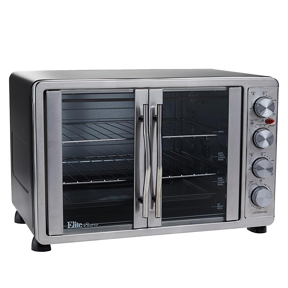 Elite Bistro 45 Liter French Door Oven with Rotisserie and R