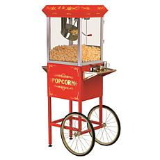 Elite Deluxe 8oz. Kettle Old Fashioned Popcorn Trolley EPM-400