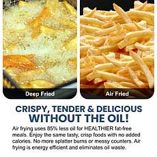Elite Gourmet 1-Qt Air Fryer - Red