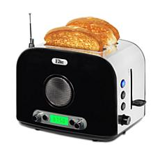 Elite Platinum 2-Slice Toaster with Radio