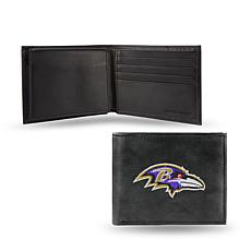 Embroidered Billfold - Baltimore Ravens
