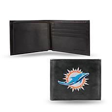 Embroidered Billfold - Miami Dolphins