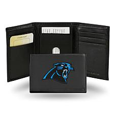 new product e6f1d 61c0c Embroidered Trifold - Carolina Panthers