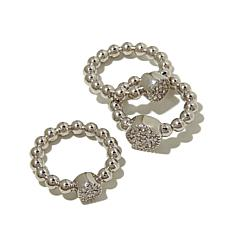 "Emma Skye Jewelry Designs ""Hit Refresh"" 3pc Ring Set"
