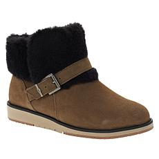 EMU Australia Oxley Fur Cuff Water-Resistant Suede Boot