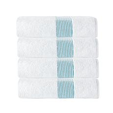 Enchante Home Elegante 100% Turkish Cotton 4-piece Bath Towel Set
