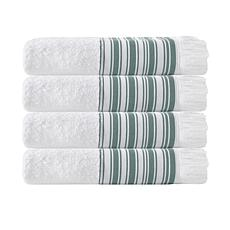 Enchante Home Monaco Set of 4 Turkish Cotton Bath Towels