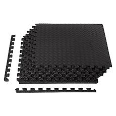 "Epic Fitness EVA Foam Interlocking Gym Floor Mat Tiles .5"" Thick, 6pk"