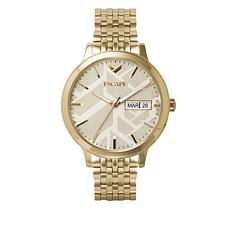 "ESCAPE Women's ""Signature"" Goldtone Bracelet Watch"