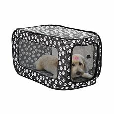 Etna Pop-Open Single Door Collapsible Soft Sided Dog Crate
