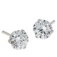 Ever Brilliant 14K White Gold 1ctw Lab Grown Diamond Stud Earrings
