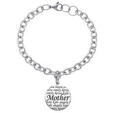 Everscribe Engraved Name Bracelet