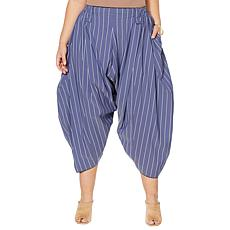 Evryday Jane Nia Striped Volume Pant