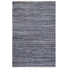 Fab Habitat Vienna Cotton/Denim Rug - 3' x 5'
