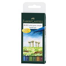 Faber-Castell Pitt Artist Brush Pen Sets - Landscape