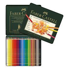 Faber-Castell Polychromos Colored Pencil Set - Set of 24