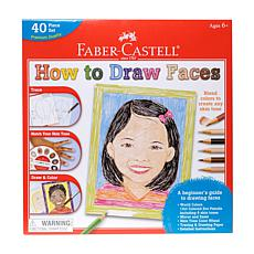 Faber-Castell World Colors How to Draw Faces set