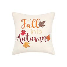 Fall Into Autumn Pillow