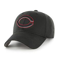 Fan Favorite Cincinnati Reds MLB Black Classic Adjustable Hat
