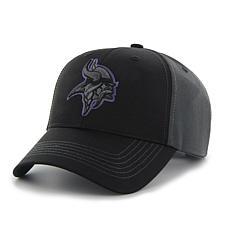 Fan Favorite Minnesota Vikings NFL Blackball Adjustable Hat