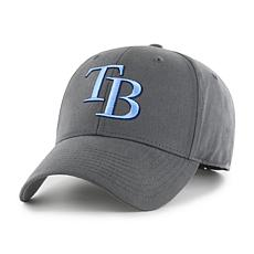 Fan Favorite Tampa Bay Rays MLB Charcoal Cleanup Adjustable Hat