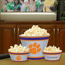 Fan Feasting Melamine Bowl Set - Clemson - College