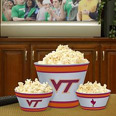 Fan Feasting Melamine Bowl Set - VA Tech - College