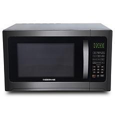 Farberware Black 1.2 Cu. Ft. 1100-Watt Microwave Oven with Grill