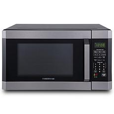 Farberware Black 1.6 cu. ft. Microwave Oven with Smart Sensor Cooking