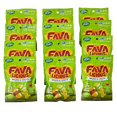 Favalicious 12-pack Wasabi & Ginger Fava Bean Snacks Auto-Ship®