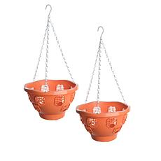 "FieldSmith 2-pack of 10"" Ultimate Hanging Planter Baskets"