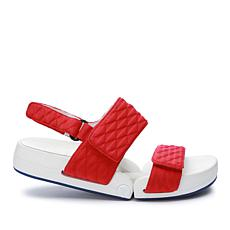 Figs by Figueroa Figulous Diamond Quilted Neoprene Flex Sandal