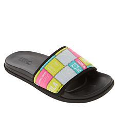 FILA Drifter Lux Patchwork Slide Sandal
