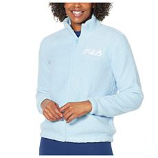 Fila Faux Sherpa Full-Zip Jacket
