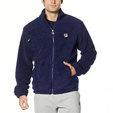 FILA Mens Bridgewater Faux Sherpa Jacket
